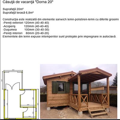 case si terase din lemn